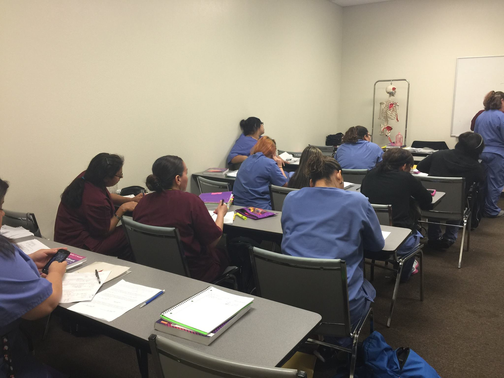 Class with CNA Students