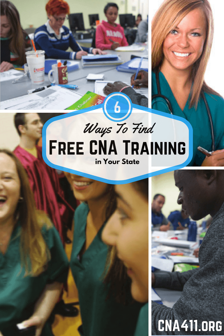 Free CNA Training Programs Online and in Public Health Care Facilities
